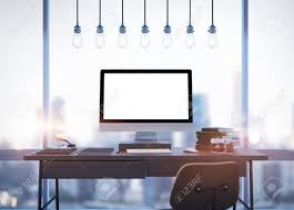computer desk stock photos u0026 pictures royalty free computer desk