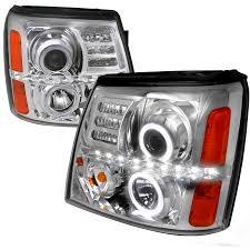 cadillac escalade fog lights dash z racing lighting aftermarket lights headlights