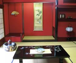 Traditional Japanese Kitchen - beautiful traditional japanese home style with granite top wooden