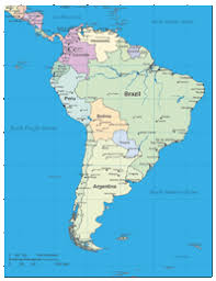 map of cities in south america south america digital vector maps editable illustrator