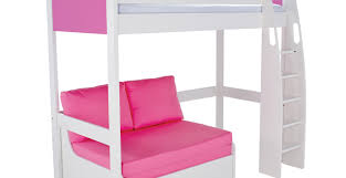 High Sleeper Bed With Futon Classic High Sleeper With Sofa Bed Brokeasshome Com