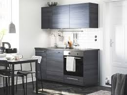 ikea furniture kitchen modern and compact in brown