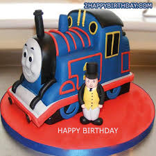 Thomas Train Birthday Cake Kids 2happybirthday