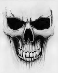a beautiful skull sketch pinteres