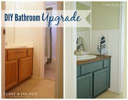 Builders Grade Bathroom by Diy Bathroom Upgrade Reveal Lost U0026 Found