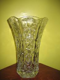 Cut Crystal Vases Antique Antiques Com Classifieds Antiques Antique Glass For Sale