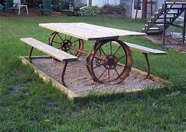 Designs For Wooden Picnic Tables by Best 25 Metal Picnic Tables Ideas On Pinterest Dinning Table