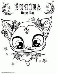 awesome littlest pet shop coloring pages littlest pet shop