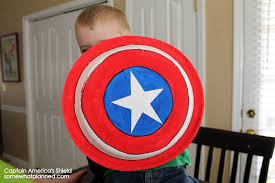 kids craft captain america shield u0027s from paper plates somewhat
