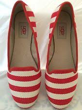 ugg womens alloway shoes zebra ugg australia s striped flats and oxfords ebay