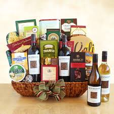 gourmet food gift baskets kenwood wine and gourmet food gift basket california delicious