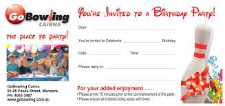 bowling birthday invitations u2013 gangcraft net