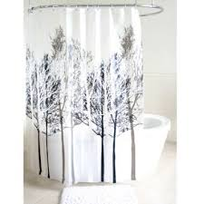 Unique Bathroom Shower Curtains Buy Grey Shower Curtain From Bed Bath Beyond