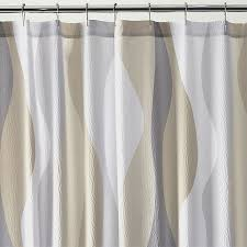 Neutral Shower Curtains Inspiration Of Grey Shower Curtains And Top 25 Best Neutral Shower
