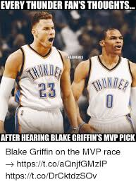 Blake Griffin Meme - everythunder fan sthoughts conbamemes after hearing blake griffin s