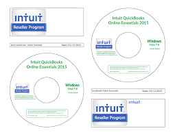 quickbooks online disc cd label template by 1980something on