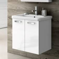 22 Inch Bathroom Vanity With Sink by 22 Inch Vanity Cabinet With Fitted Sink Contemporary Bathroom