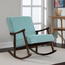 Modern Rocking Chair Nursery Aqua Blue Chair U2013 Adocumparone Com