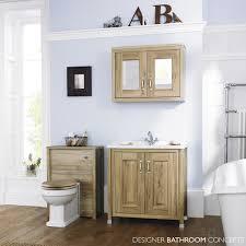 Bathroom Furniture Walnut by English Heritage 800mm Natural Walnut Bathroom Mirrored Cabinet