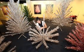 aluminum christmas tree hey blockhead aluminum christmas trees regain their shine at