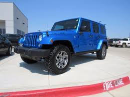 4 door jeep rubicon for sale used 2016 jeep wrangler unlimited 4x4 4 door suv rubicon blue used suv