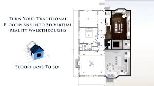 virtual floor plans turn your 2d floorplans into 3d virtual reality walkthroughs
