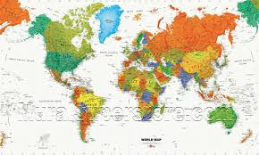 map wall mural mp4946m by york world map wall mural mp4946m by york