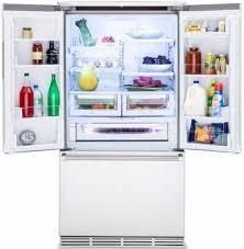 Stainless Steel Refrigerator French Door Bottom Freezer - viking 36