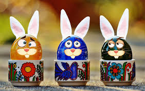 easter pictures free photo easter easter eggs hare free image on