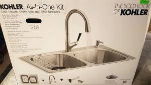 faucet kitchen sink all in one kitchen sink all in one kitchen kit stainless steel sink