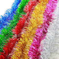 ribbons for sale hot sale 2m colorful garland ribbons for party wedding marriage room
