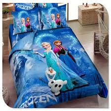 frozen sheets blue frozen bedding elsa bedding for 100 cotton frozen
