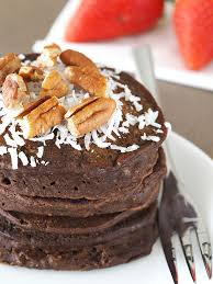 german chocolate pancakes for one the breakfast drama queen