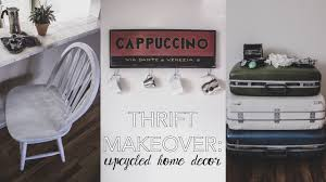 Upcycled Home Decor Thrift Makeover Upcycled Home Decor Youtube