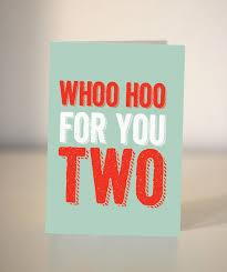 wedding congratulations card wedding card whoo hoo for you two wedding congratulations