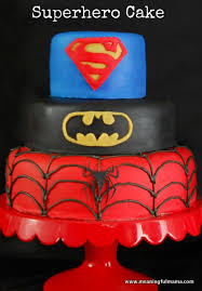 How To Decorate Spiderman Cake How To Make A Spiderman Cake