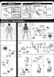 1 12 scout trooper u0026 speeder bike english manual u0026 color guide