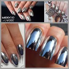 diy chrome mirror powder nails u0026 nail art ideas