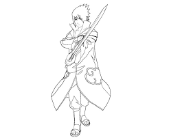 akatsuki coloring pages naruto shippuden anime ucoloring fans club