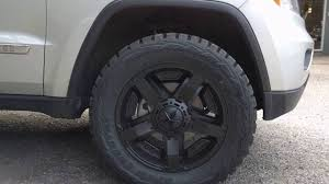 Firestone Destination Mt 285 75r16 Recommendation 2011 Jeep Grand Cherokee Wk2 Lifted Youtube