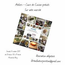 cour de cuisine gratuit cours de cuisine gratuits cuisines du monde marché quentin