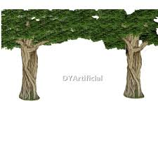 3 5m height by 3 5m wide artificial green ficus tree dongyi