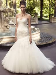 Wedding Dresses Edinburgh Sweetheart Fit And Flare Casablanca Bridal Gown 2116