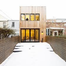 modern home design wonderful brooklyn row house by office of