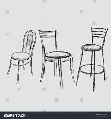 chair sketch stock illustration 281456840 shutterstock