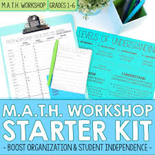 differentiate math instruction with m a t h workshop