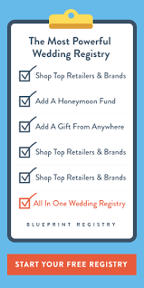 all in one wedding registry 8 ways to host a tech savvy wedding