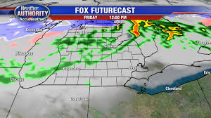Cold Front Map Cold Front Brings Threat Of Severe Weather Friday Evening Story