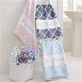 monogrammed personalized towels personalizationmall
