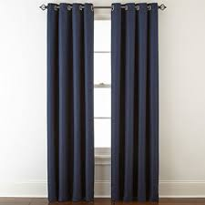 Royal Blue Curtains Blue Curtains Drapes For Window Jcpenney